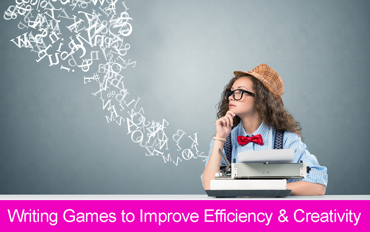 writing activities, writing games, writing efficiency