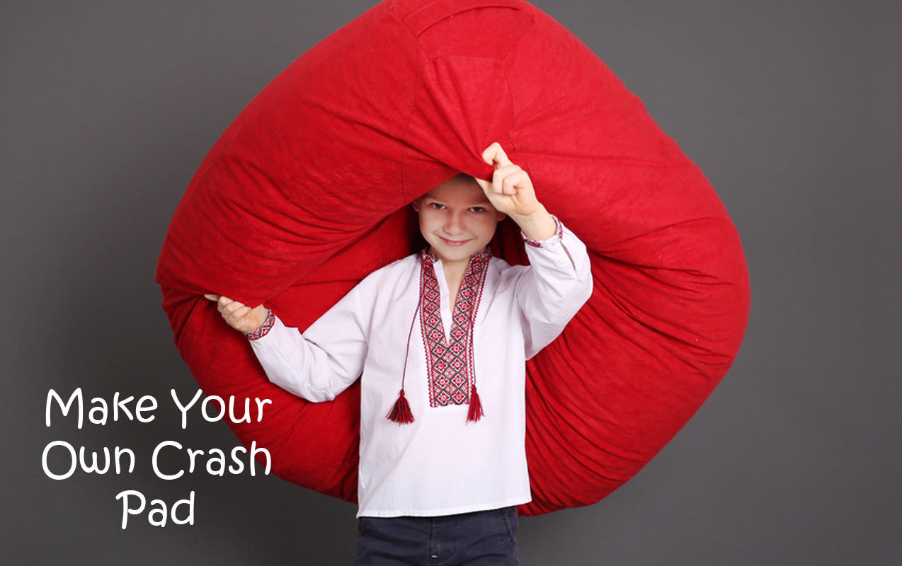 Crash pad, Sensory processing, make your own crash pad
