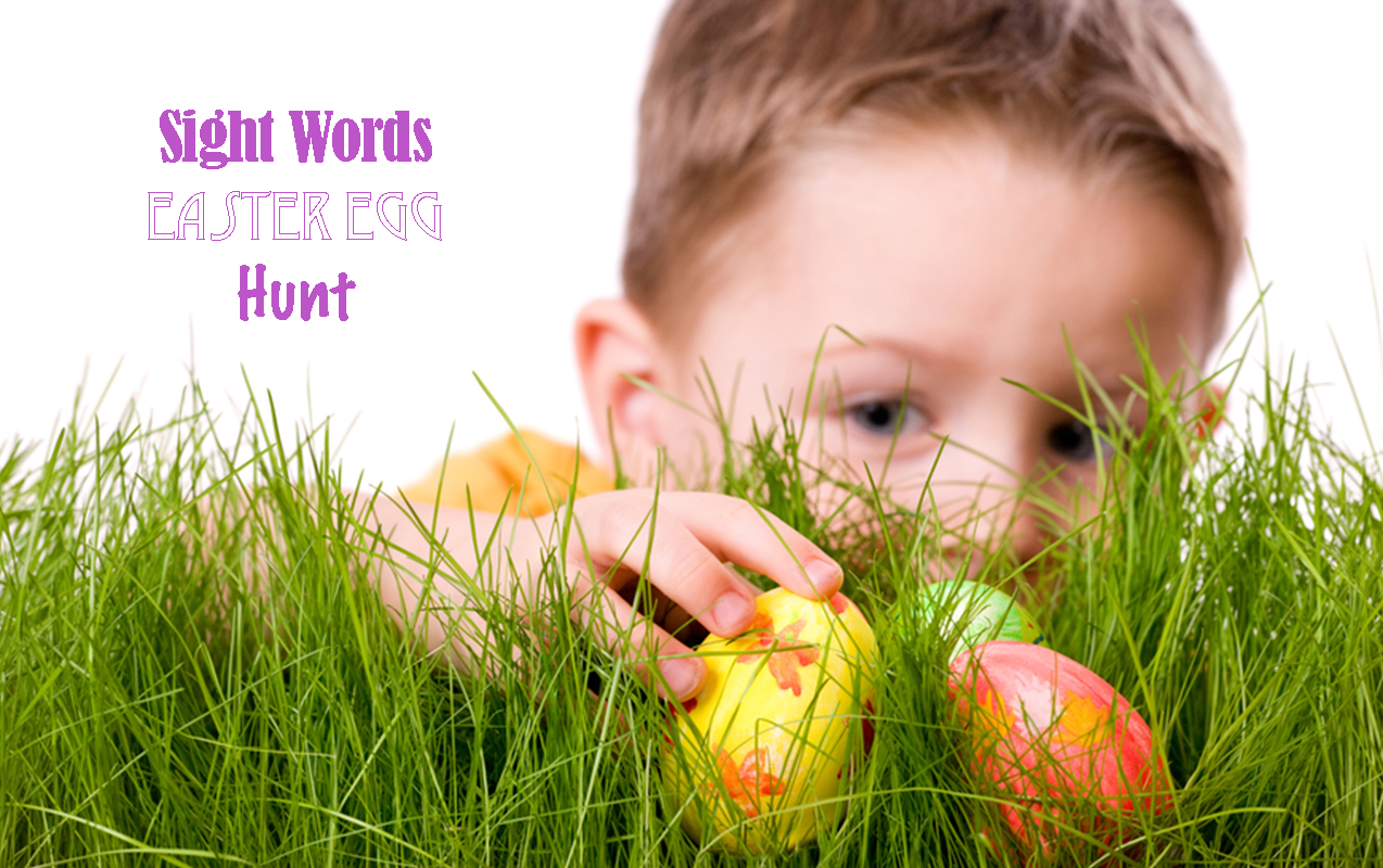 Easter Egg Hunt, Sight Words, Comprehension
