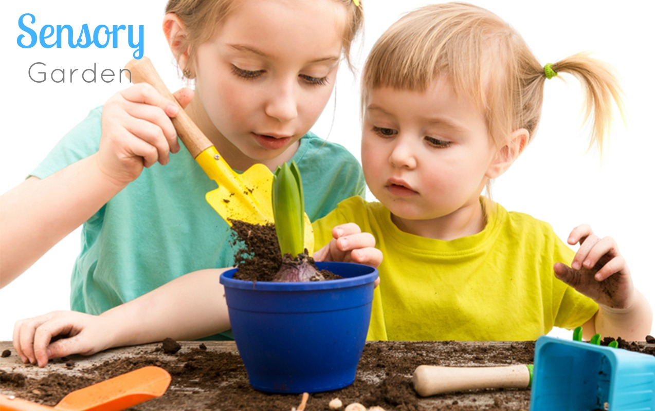 Gardening provides even more benefits for education, including sensory input.