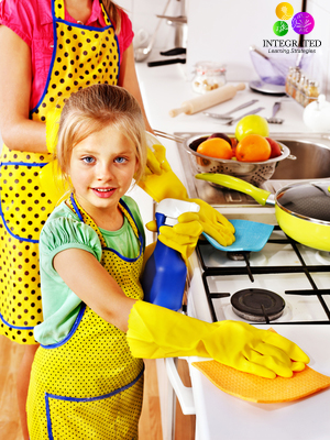 The best chore chart for Kids with Sensory Processing and ADHD issues.