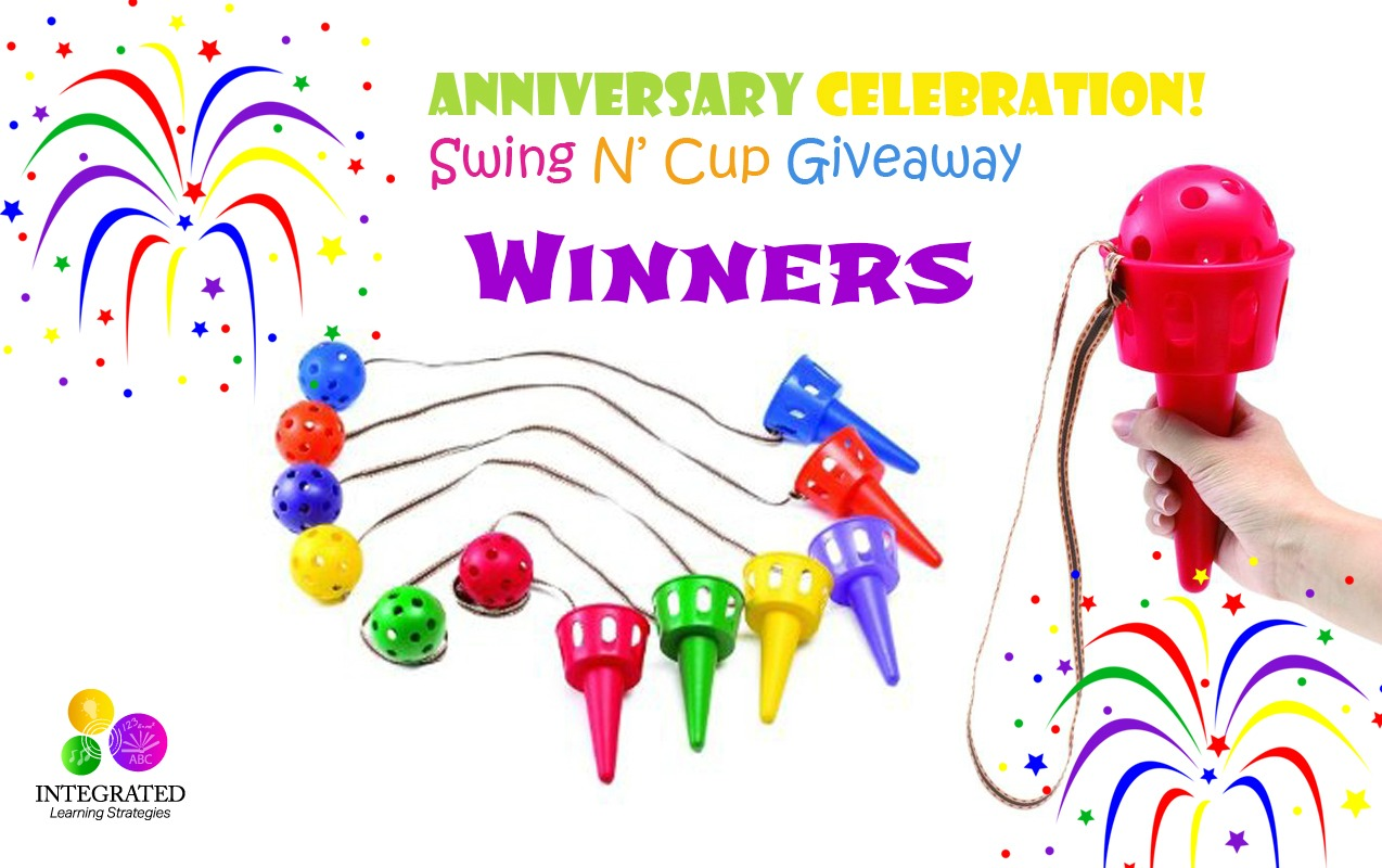 Swing N' Scoop Cup Giveaway Winners Announced