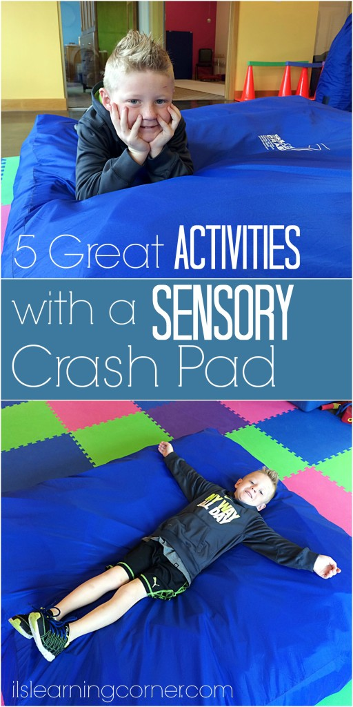 5 Great Activities to do with a Sensory Crash Pad | ilslearning.com #sensory