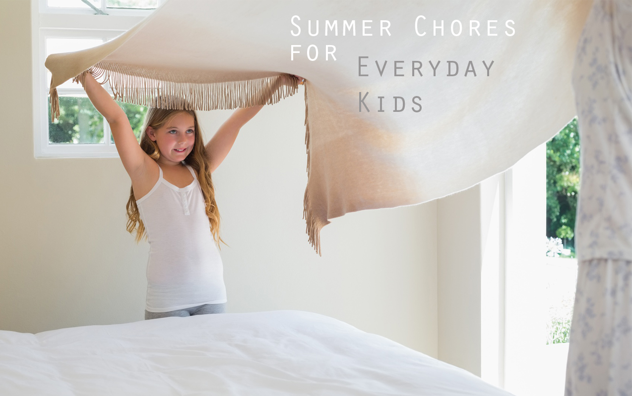 Summer Chores for Everyday Kids | ilslearningcorner.com #chores