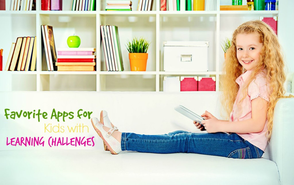 15 Favorite Apps for Kids with Learning Challenges | ilslearningcorner.com #appsforkids #bestappsforkids