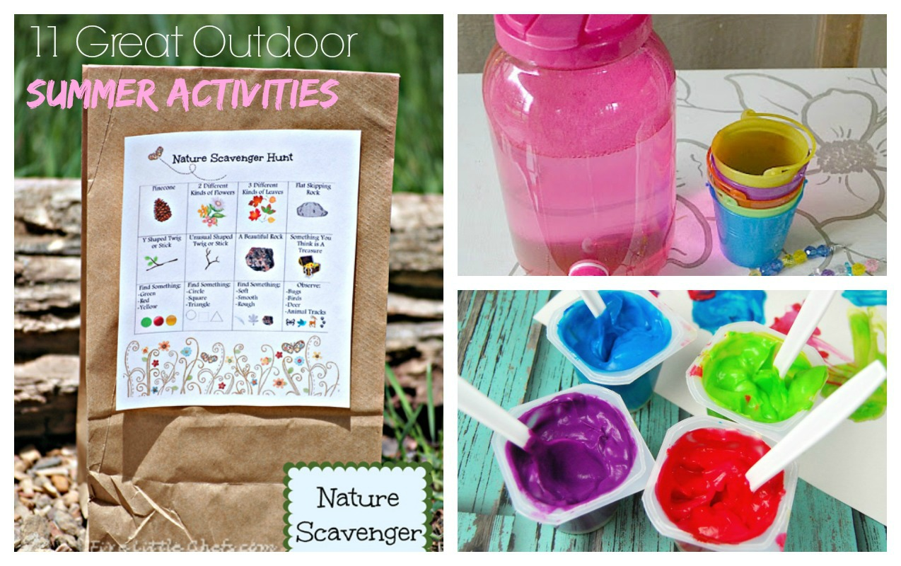 11 Great Summer Activities for Kids to do this summer to improve physical literacy